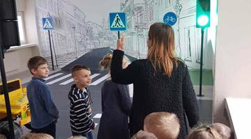 Išvyka į Kauno A. Žikevičiaus saugaus vaiko mokyklą